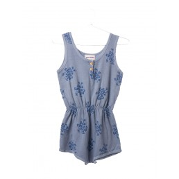 Bobo Choses Waistband Playsuit 1968 AO Cloud Blue