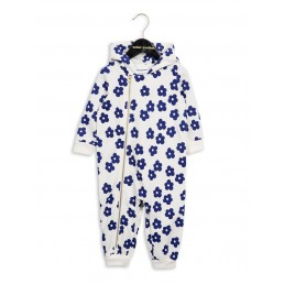 Mini Rodini Blossom Onesie Off-White