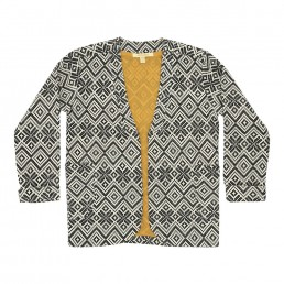 Soft Gallery Ellis Jacket - Jacquard - All-over print Inka