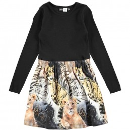 Molo Kids Credence Dress Wild Cats