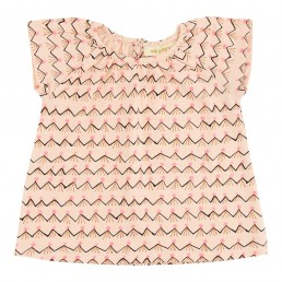 Soft Gallery Baby Olivia Top Scallop Shell Volcano