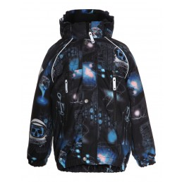 Molo Kids Castor Winter Jacket Cyberspace