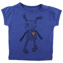 Small Rags Ella T-shirt Deep Ultramarine