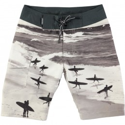 Molo Kids Nalvaro long Swimshort Running Surfers