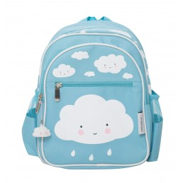 A Little Lovely Company Backpack Cloud - blue