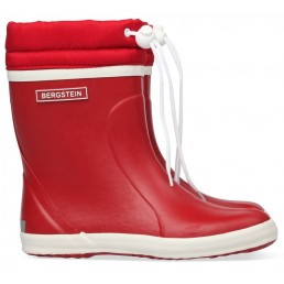 Bergstein Rain boot Winter Red