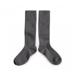 Collégien Knee High Socks Gris Orage