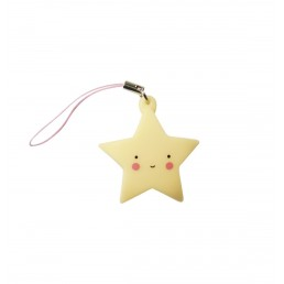 A Little Lovely Company Charm Yellow Star