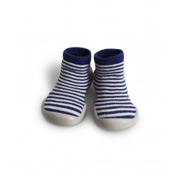 Collégien Slippers Sixties Blue Lines