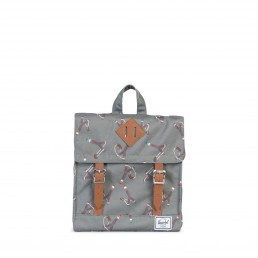 Herschel Survey Kids Stick&Stone/Tan Leather