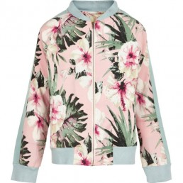 The New Daliah Bomber Cameo Rose