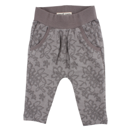 Small Rags Ella Pants Grey Melange