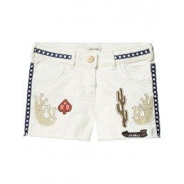 Scotch R'Belle Shorts with embroidery & studs