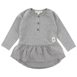Small Rags Ella Longsleeve Top Grey Melange