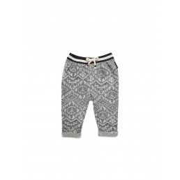 Sproet & Sprout Sweatpants African Allover - Grey