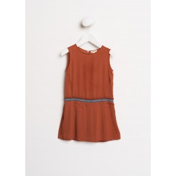 Bellerose Lucille sleeveless dress Havana