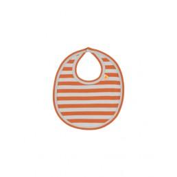 Tinycottons small stripes bib red/light