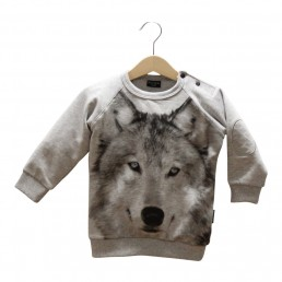 Lucky No.7 Wolf Sweater