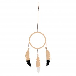 Nobodinoz Dream catcher black & white