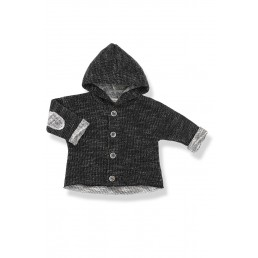 1+ in the family DANIEL black hood jacket