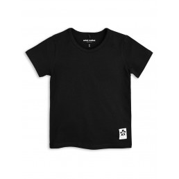 Mini Rodini BASIC SS TEE Black