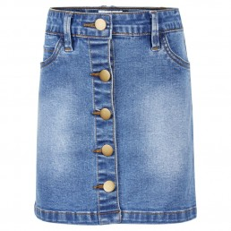 The New Cilje Denim Skirt Blue Denim