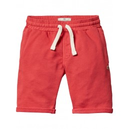 Scotch Shrunk Basic garment dyed sweat shorts Red