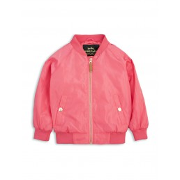 Mini Rodini FROG BASEBALL JACKET Cerise