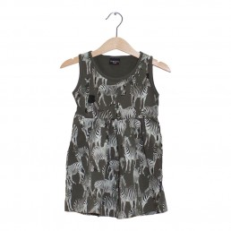 Lucky No.7 Ethnic Safari Zebra dress