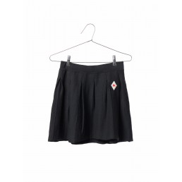 Bobo Choses Pleated Knitted skirt Black