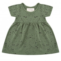Little Indians Dress Splash Loden Green