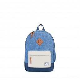 Herschel Heritage Youth Limoges Crosshatch/Pelican