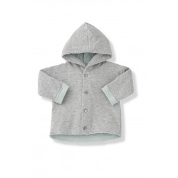 1+ in the family IGNASI aqua hood jacket