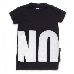 Nununu NO! T-Shirt (2 LENGTHS)   Black