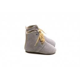 Mockies High Boots Grey