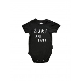 Sproet & Sprout romper Surf and Turf - Black