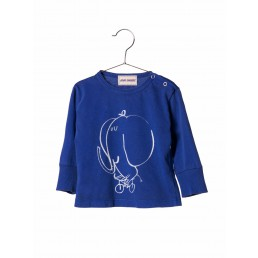 Bobo Choses Longsleeve Baby T-shirt The Cyclist