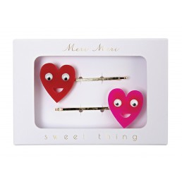 Meri Meri Heart Hair Pins