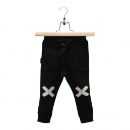 Lucky No.7 Knitted pants Black