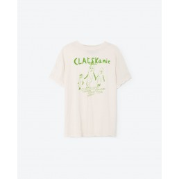 TAO Rooster Kids T-shirt Raw White Clatskaine
