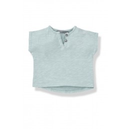 1+ in the family JAN t-shirt  aqua