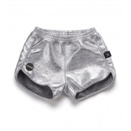 Nununu SILVER GYM SHORTS