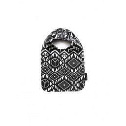 Sproet & Sprout Bib African Allover - Black