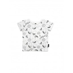 Sproet & Sprout T-Shirt Fruit allover - Off-white