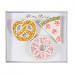 Meri Meri Snacks Brooches