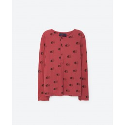 TAO Deer Kids T-Shirt Maroon Fruit