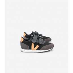 Veja Arcade Small BMesh Black Grafite Copper