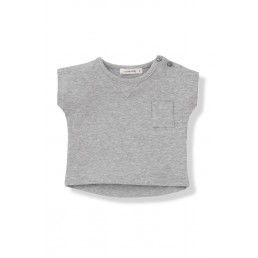 1+ in the family NACHO grey t-shirt