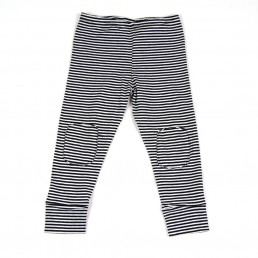 Mingo Legging jersey Black-White