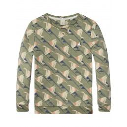 Scotch Shrunk All-Over Printed Sweater  Combo C